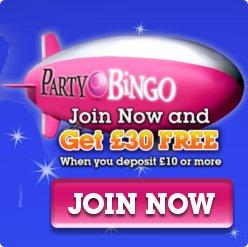 party bingo deposit bonus