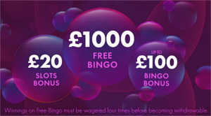 welcome bonus at bet365 bingo