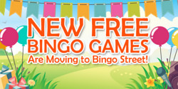there are free bingo games available at bingo street