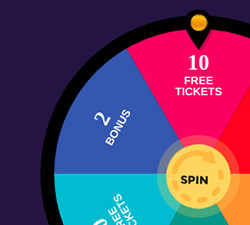 fortune wheel at smooth bingo for nice bonuses and a surprise everyday