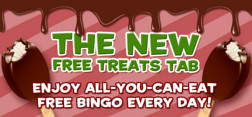 play the free bingo every day at tasty bingo