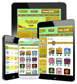 you can also play on your mobile of tablet at snappy bingo