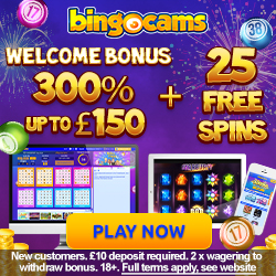 bonus offers bingocams